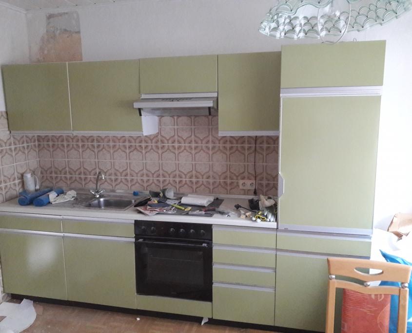 Küche Altbau unmodern