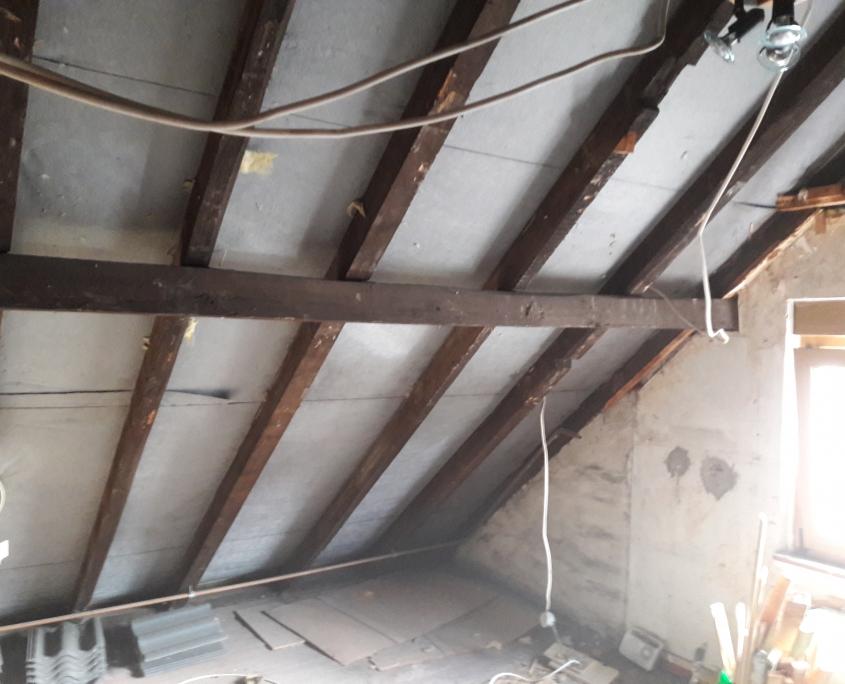 Dach ohne Isolierung