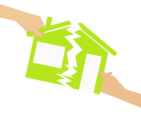 Was passiert mit dem Haus bei einer Scheidung?